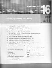 Lec1 Monetary theory and policy