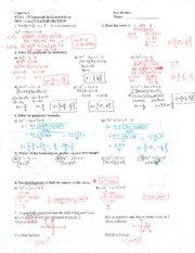 Test_Review_1_Solutions