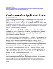 Starkman - Confessions of an Application Reader
