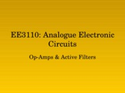 EE3110-AEC-2008-Opamp-Active Filters_R1