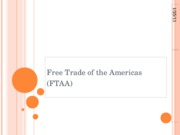 Free Trade of the Americas
