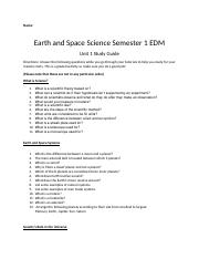 Earth Sccience Sem 1 Unit 1 Study Guide (1).docx
