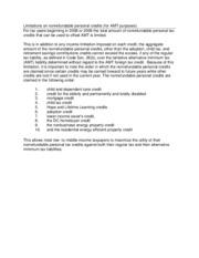 Amt nol worksheet 2009