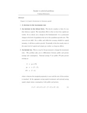 Econ 414-Chapter 2-Problems and answers