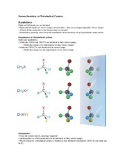 Stereochemistry at Tetrahedral Center Reviewer