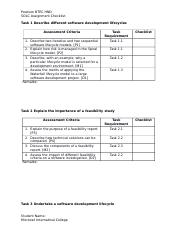 BTEC Assignment Help and Homework Help