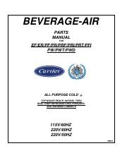 beverage air ef24-1ahs
