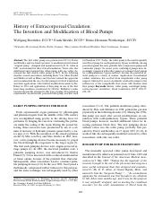 2003 JECT Boettcher History of Extracorporeal Circulation The Invention And Modification.pdf