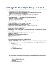 Management Concepts Study Guide #2.docx