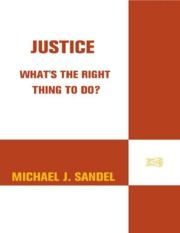 Michael Sandel- Justice- What-s the Right Thing to Do