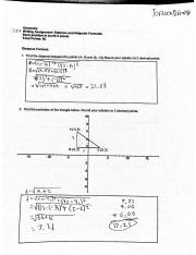 3.01 Writing Assignment: Distance and Midpoint Formulas