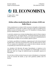 Mercadotecnia Global, Junio 27