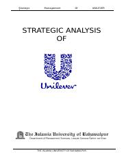 Global Dimension of International business-Strategic-analysis-of-UNILEVER-Pak-Ltd
