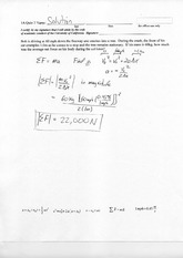 Principles Physics, Answers Quiz 3
