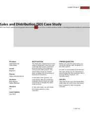 SAP-Exercise_Using_GBI_Case_Study