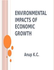 2. Environmental impacts of economic growth