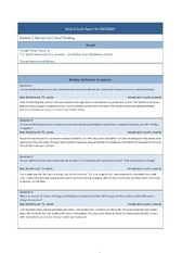 hum115 r1 stages critical thinking 1 Question university of phoenix material week 1 – levels and steps of critical thinking worksheet note this is a three-part assignment please ensure.