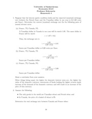 Econ 214-Homework #4- with answers