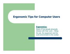 Office Ergonomics (1)