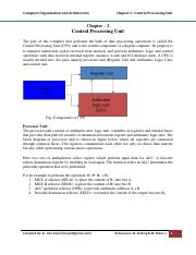 Chapter2-Central-Processing-Unit