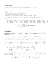 Physics 137A Homework 8 Solutions