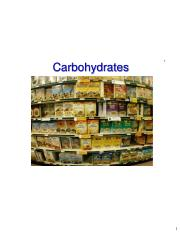 2018 Topic 12 - Carbohydrates - 1-Slide.pdf