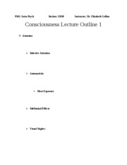 Outline+Chapter+6+Consciousness1