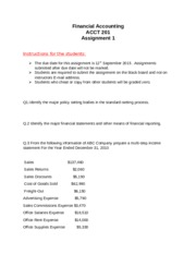 ACCT 201 1st  Assingnment (students copy) (2) (1)