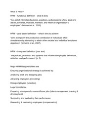 8 Pages Intro To HR Practices