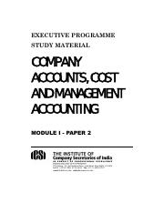 Company Accounts, Cost and Management Accounting.pdf