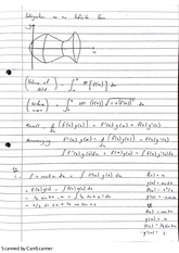 Infinite Sums integrations Class Notes