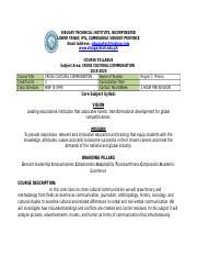 Contemporary-Arts Syllabus- doc - SIBUGAY TECHNICAL