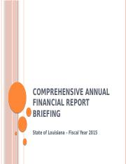 Comprehensive Annual Financial Report Briefing.pptx