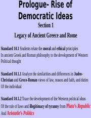 Prologue- Rise of Democratic Ideas.ppt