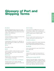 Glossary of Port and Shipping Terms.pdf