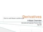 Derivatives for 432