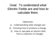 P219lecture01electricfield