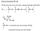 Lecture 10-12, Electric potential