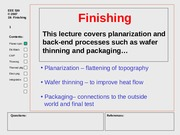 19 Wafer finishing.ppt