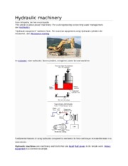 Hydraulic machinery.docx