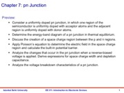 EE 311 Lecture Notes - Chapter 7