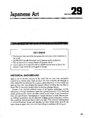 Chapter 29 Japanese Art AP Art Study Guide