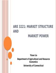 ARE Lec VIII [Market Structure & Market Power].pptx