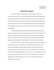 King Arthur Legend Paper