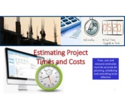 05 Estimating Project Time and Cost