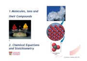2. Molecules, Chemical Equations
