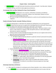 Chapter 3 - Social Cognition Notes.docx