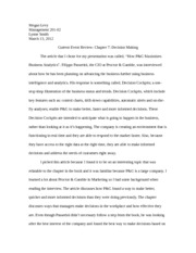 Current Event Review Paper
