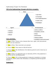 Epidemiology Chapter Two Worksheet Answers.docx