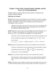 CHM2132 CHAPTER 2 QUESTIONS AND ANSWERS